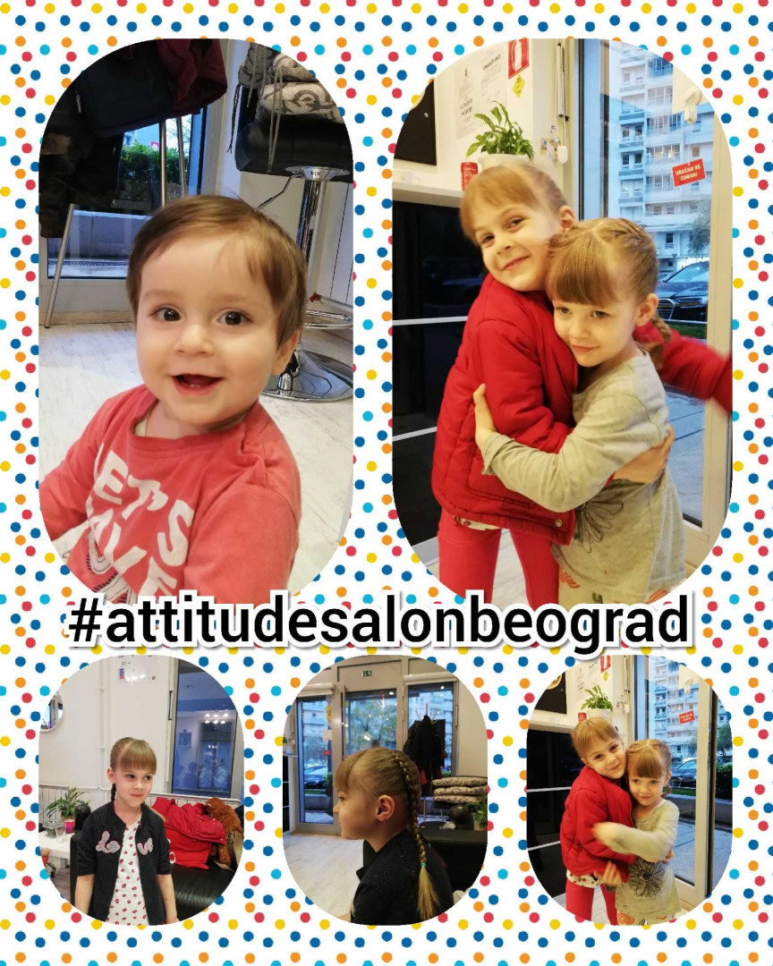 LookBook Attitude hair salon Dečije šišanje - za devojčice