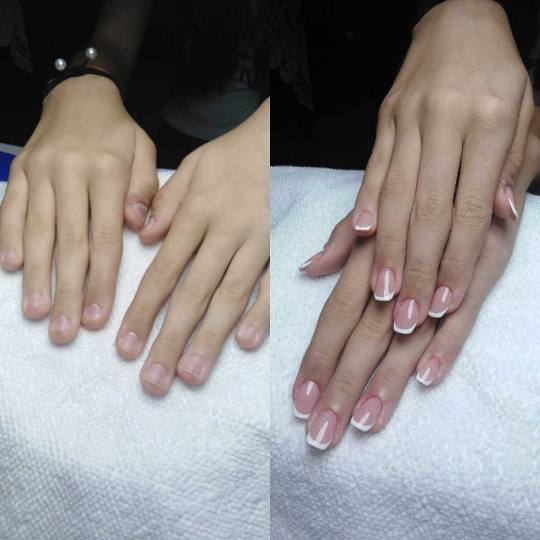 Headroom #beograd Izlivanje noktiju Izlivanje noktiju gelom - nokti srednje dužine