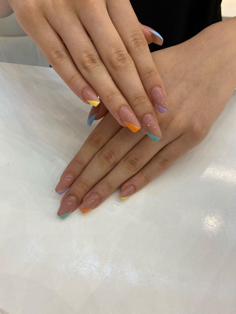 LookBook Alfaparf Nails Korekcija ojačavanja / nadogradnje / izlivanja noktiju + french