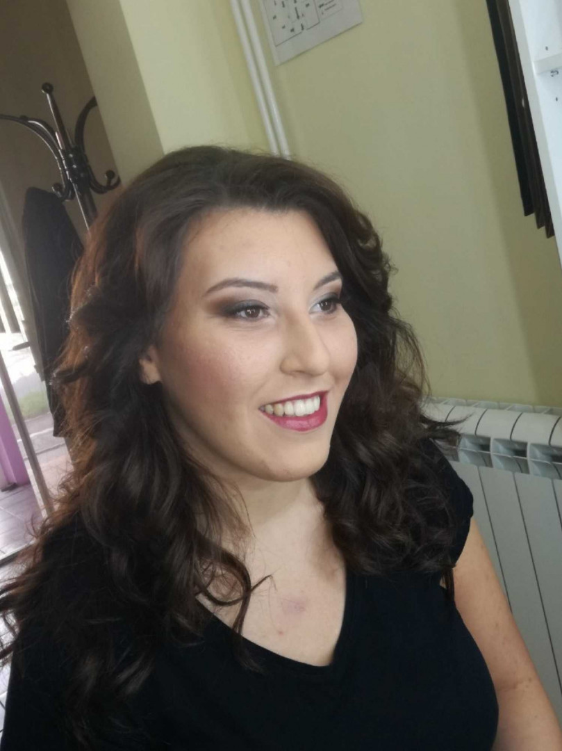 LookBook Jovana + Profesionalno šminkanje - dnevna / večernja šminka