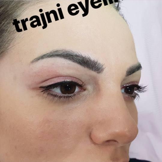 Be You #beograd Trajna šminka Trajna šminka kapaka + prva korekcija - eyeliner