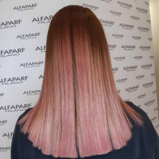 Alfaparf Studio #beograd Ispravljanje kose Keratin za negu i ispravljanje kose - duga kosa keratin +