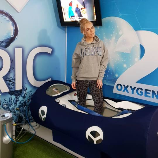 Oxybaric centar Bg Vračar #beograd Tretmani tela Hiperbarična komora - ležeća Telo