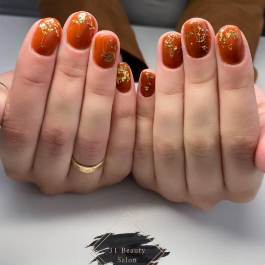 31 Beauty Salon #beograd Ojačavanje noktiju Ojačavanje prirodnih noktiju gelom + gel lak - ruke