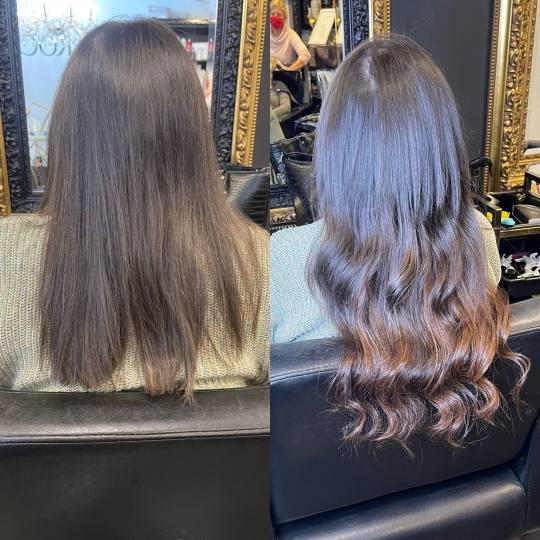 Baroque #beograd Nadogradnja kose Uslužna nadogradnja kose - 250 grama