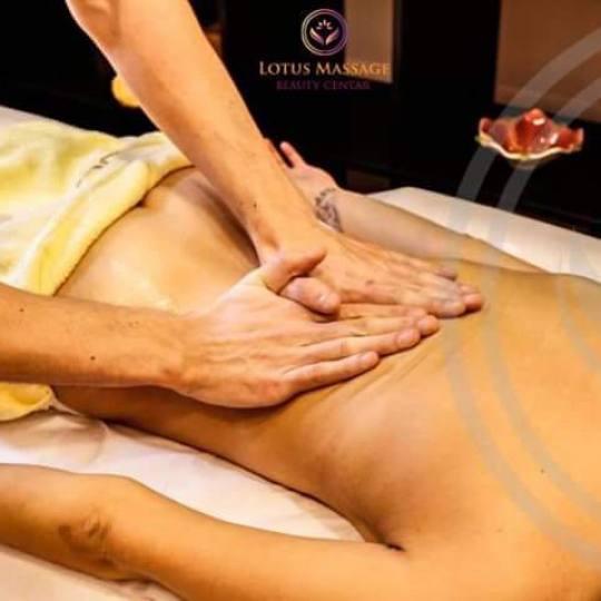 Lotus Massage #beograd Terapeutska masaža Terapeutska masaža leđa