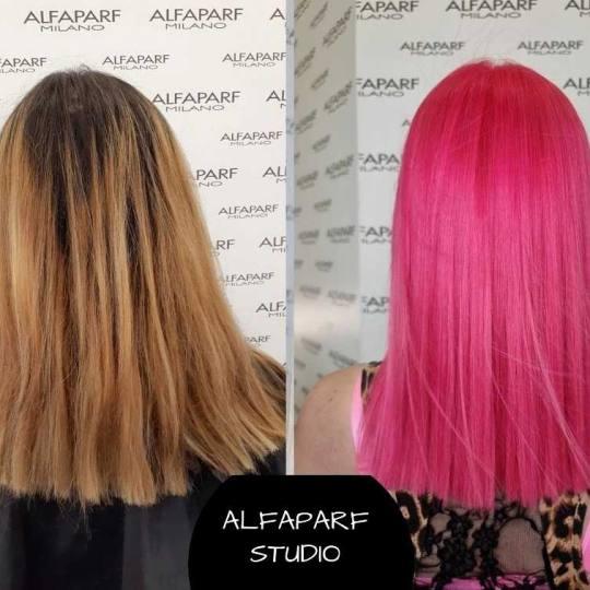 Alfaparf Studio Ada Mall #beograd Farbanje kose Farbanje cele dužine - duga kosa