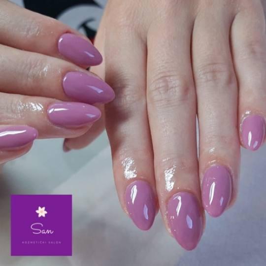 San #beograd Izlivanje noktiju Izlivanje noktiju gelom  - boja