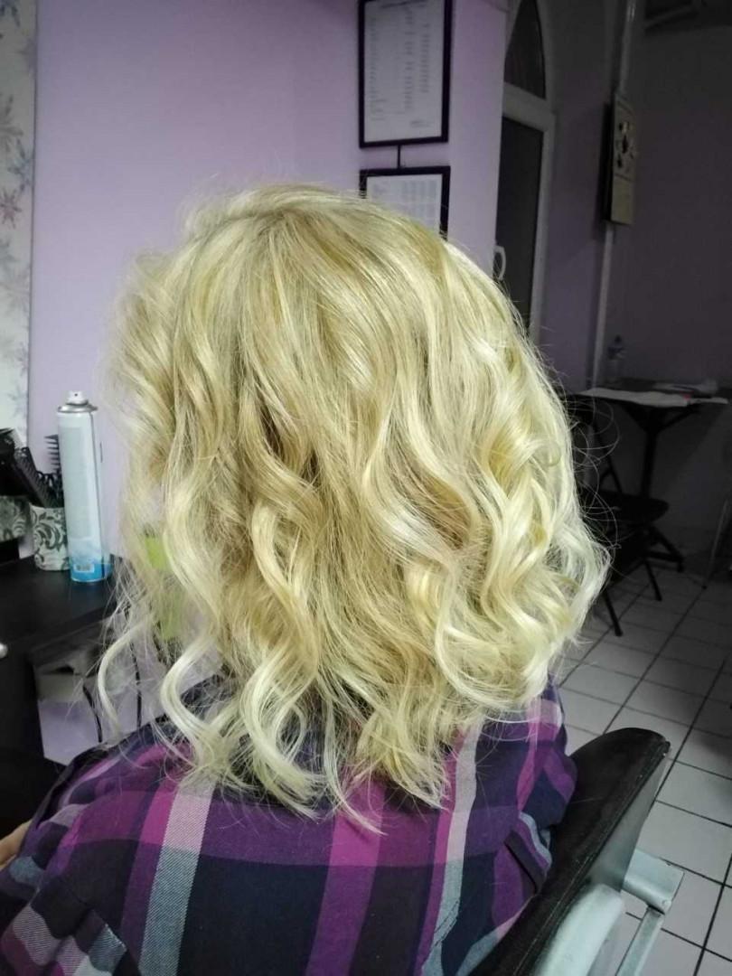 LookBook Jovana + Feniranje na ravno / lokne - kosa srednje dužine / duga kosa