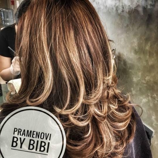 Bibi beauty centar #beograd Pramenovi Pramenovi na foliju - srednja kosa pramenovi by BiBi