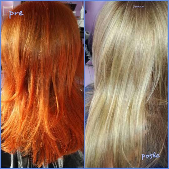 Jovana + #beograd Pramenovi Pramenovi na foliju do 2 boje + preliv - duga kosa