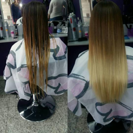 Studio Lady #beograd Feniranje i stilizovanje Feniranje na ravno / lokne - duga kosa 😻😻😻