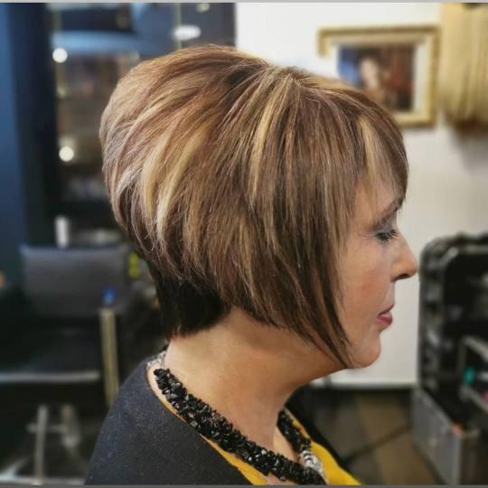 Baroque #beograd Šišanje Žensko šišanje + feniranje - kratka kosa