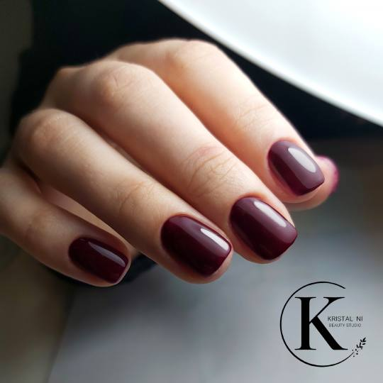 Kristal. NI Beauty Studio #nis Gel lak Gel lak - ruke