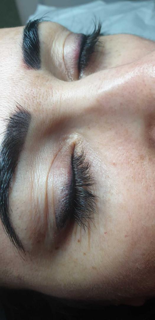 LookBook Tina B Trajna šminka - eyeliner fashion + prva korekcija
