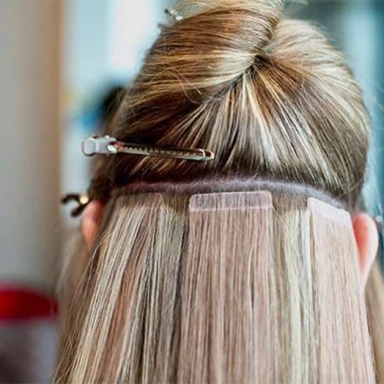 SALON 26 - Dorćol #beograd Nadogradnja kose Nadogradnja kose tape in - po pramenu Nadogradnja kose