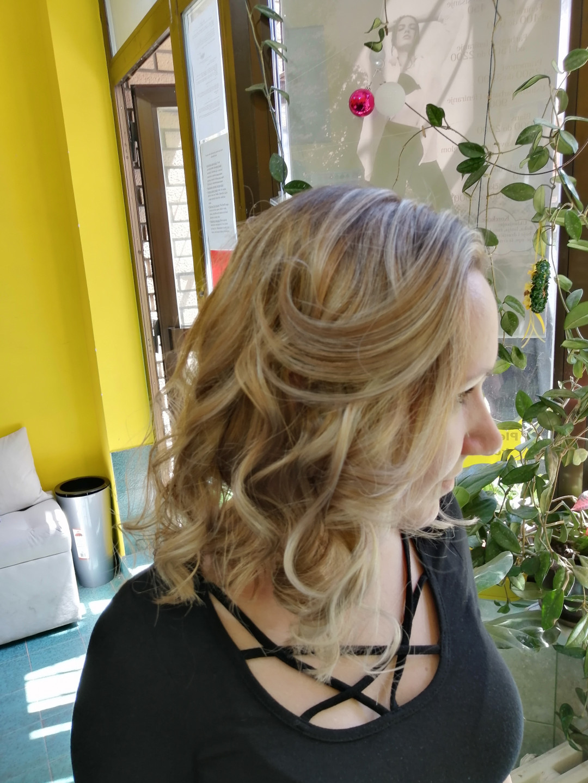 LookBook Candir Pramenovi na foliju - duga kosa + feniranje