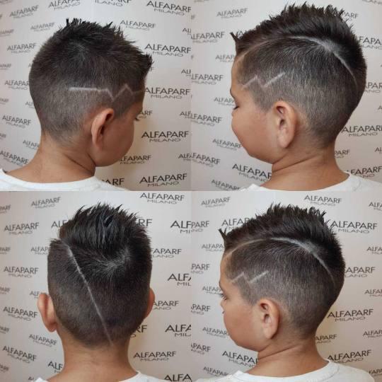 Alfaparf Studio Ada Mall #beograd Dečije šišanje Dečije šišanje za dečake - do 12 godina