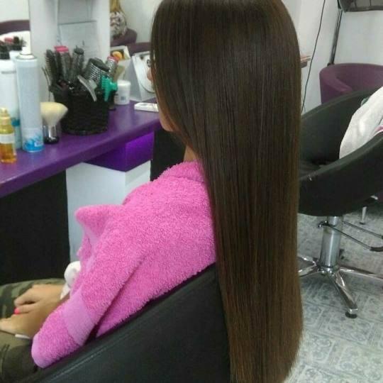 Bajka 10 #beograd Žensko šišanje Šišanje + feniranje na ravno - duga kosa