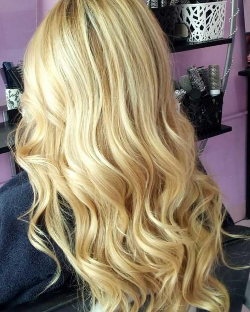 LookBook Jovana + Feniranje na ravno / lokne - ekstra duga kosa
