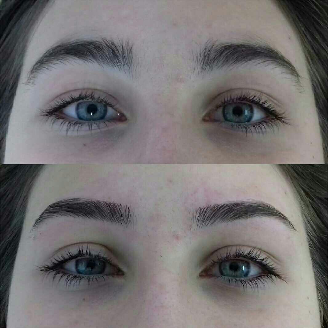 LookBook Blue Eyes Oblikovanje / korekcija obrva - toplim voskom / pincetom