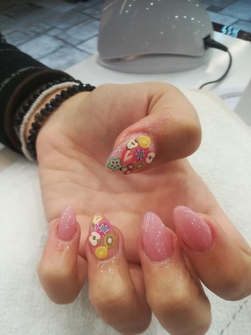 LookBook Alfaparf Nails Nail art - jedan nokat