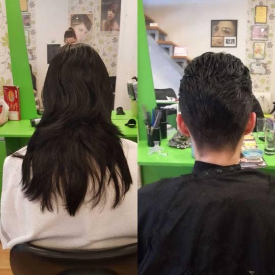 Fortuna #beograd Šišanje Žensko šišanje - ekstra duga kosa Šišanje