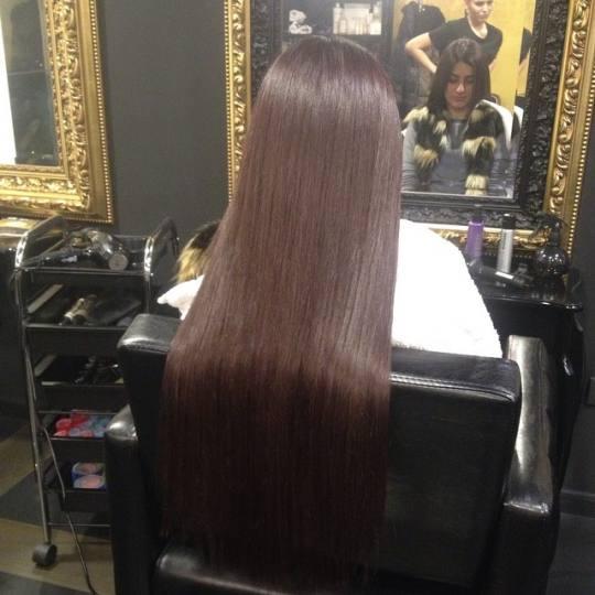 Baroque #beograd Feniranje i stilizovanje Feniranje na ravno / lokne - ekstra duga kosa