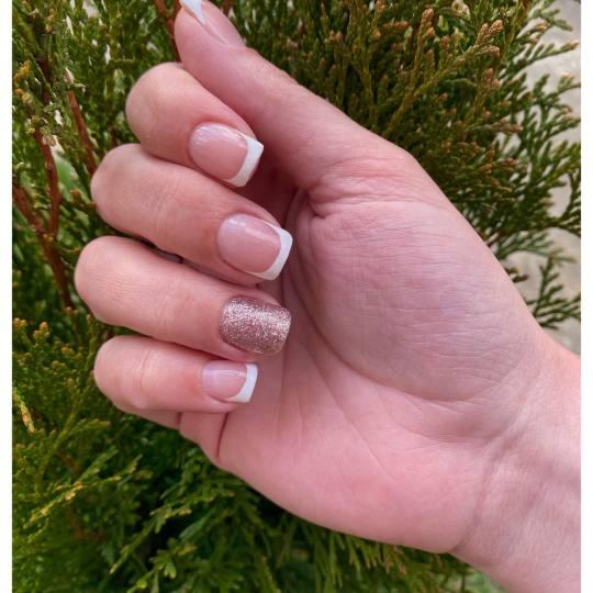 Monami beauty #beograd Ojačavanje noktiju Ojačavanje noktiju S - dužina