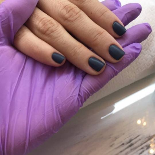 Beauty Station #beograd Gel lak Manikir + Shellac trajni lak Matte top coat