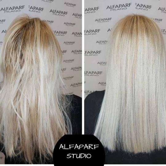 Alfaparf Studio #beograd Blajhanje kose Blajhanje duge kose