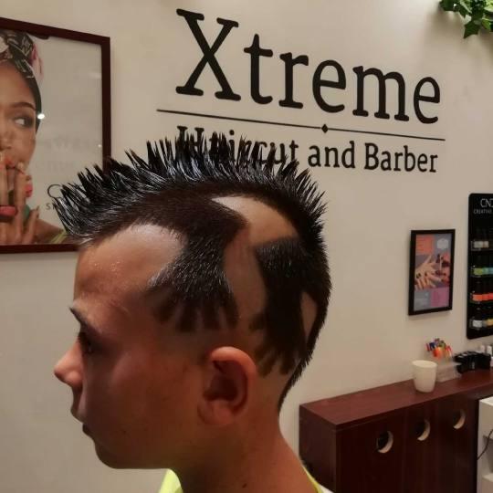 Xtreme #beograd Muško šišanje Crtanje po glavi - složeno Iguana 😎