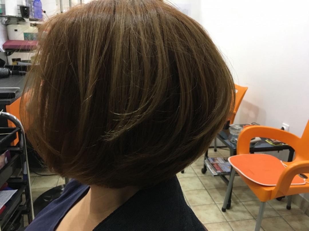 LookBook Valentina - Tina S Feniranje kratke kose - na ravno / lokne