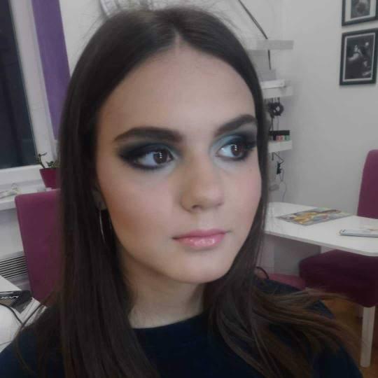 Salon lepote Felicita #beograd Make-up / šminkanje Profesionalno šminkanje - bez veštačkih trepa