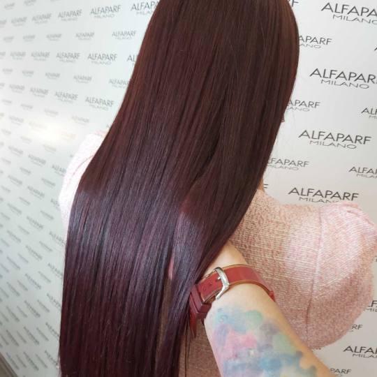 Alfaparf Studio Ada Mall #beograd Farbanje kose Farbanje cele dužine - ekstra duga kosa