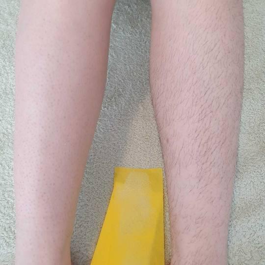 Tina S 021 #novisad Depilacija voskom Depilacija potkolenica hladnim voskom depilacija pre i posle