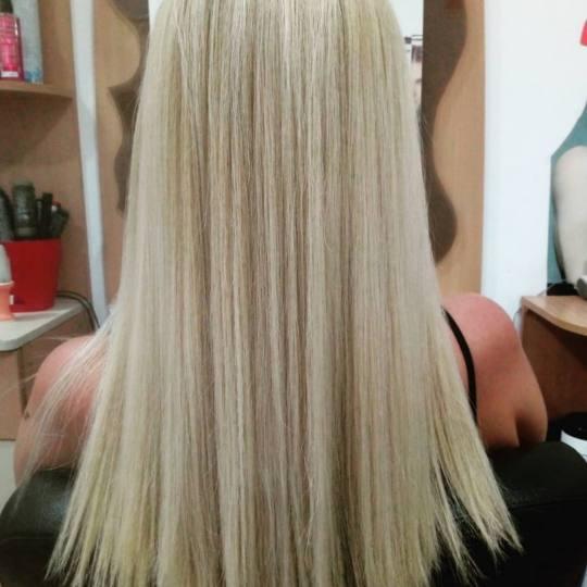 Nataly Trend Studio #novisad Pramenovi Pramenovi na foliju - duga kosa
