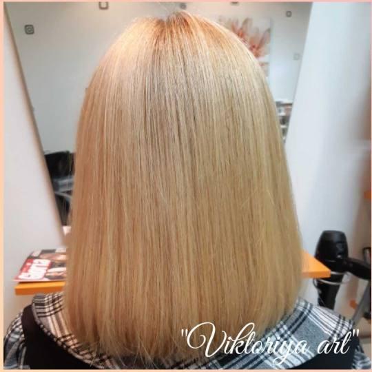 Victoriya Art #beograd Žensko šišanje Žensko šišanje - kosa srednje dužine