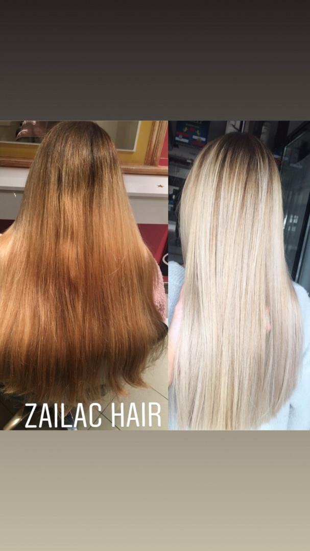 LookBook Zailac hair Balayage / pramenovi + žensko šišanje + feniranje + olaplex za negu - sve dužine kose