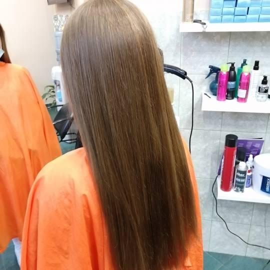 Candir #novisad Žensko šišanje Žensko šišanje - duga kosa