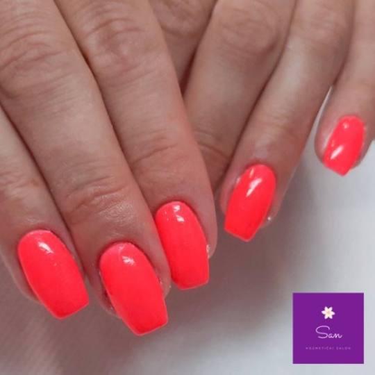 San #beograd Nadogradnja noktiju Nadogradnja noktiju tipsama  - boja