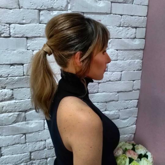 Beauty Express bar #beograd Svečane i frizure za svadbu Svečana frizura - jednostavna