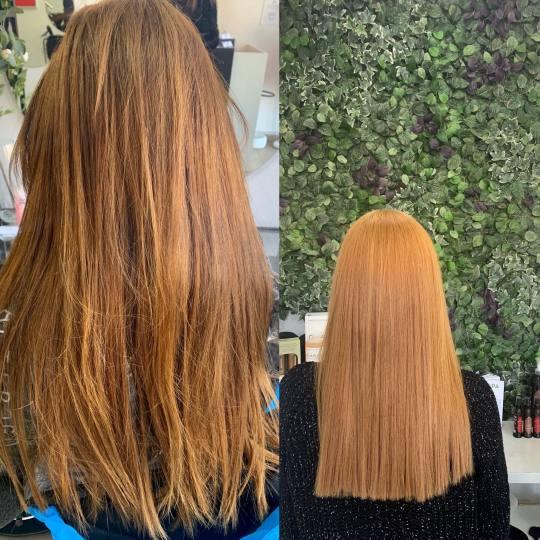 SALON 26 - Dorćol #beograd Farbanje kose Farbanje cele dužine - duga kosa Farbanje i olaplex