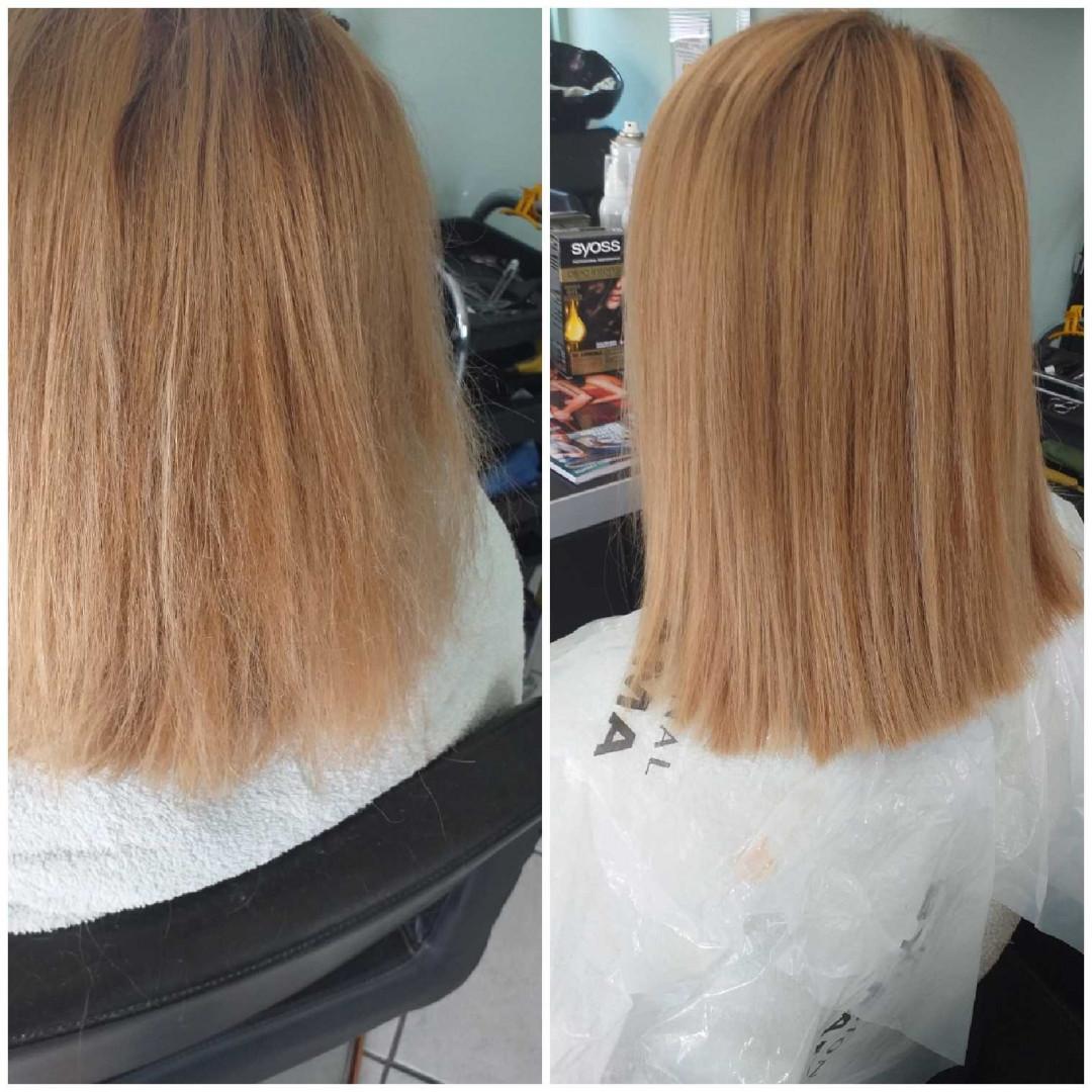 LookBook Bella Donna Keratinsko ispravljanje kose - duga kosa