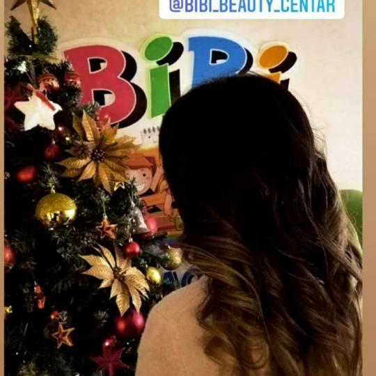 Bibi beauty centar #beograd Pramenovi Pramenovi na foliju u 1 / 2 boje / blanšem + preliv - kosa sr