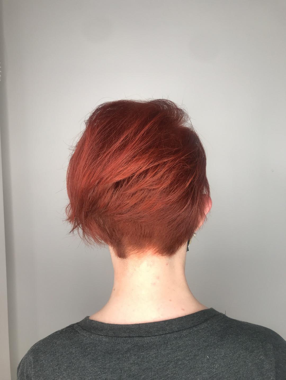 LookBook Cut 'n' Go Žensko šišanje + feniranje - kratka kosa