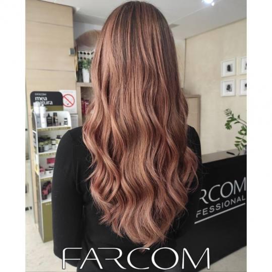 Farcom Professional #beograd Uvijanje, lokne i talasi Lokne na presu ili figaro - duga kosa