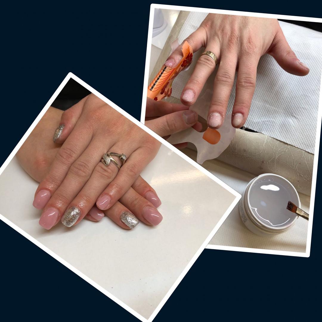 LookBook Alfaparf Nails Izlivanje noktiju gelom + gel u boji