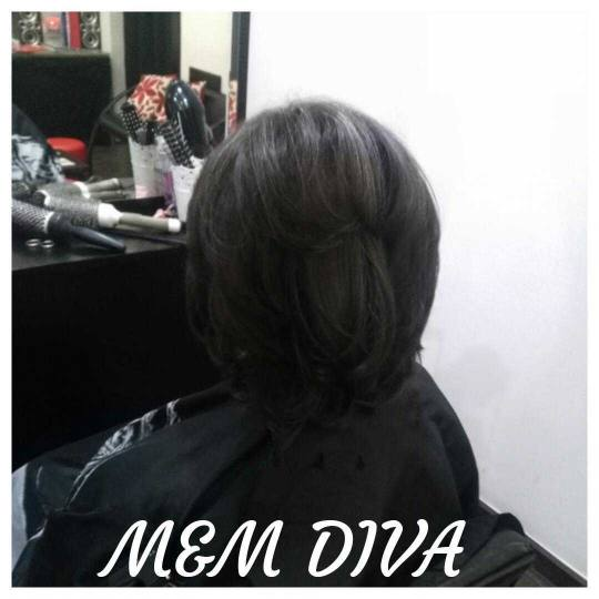 M&M Diva #beograd Žensko šišanje Žensko šišanje - kosa srednje dužine