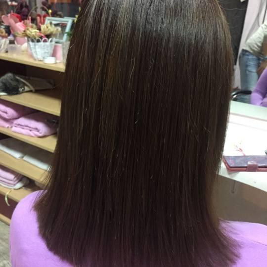 Wild style #nis Šišanje Šišanje + feniranje na ravno - kosa srednje dužine